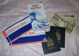 passes passports and money