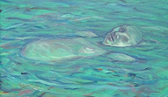 David Yghjian - Deadman's Float oil 14x11