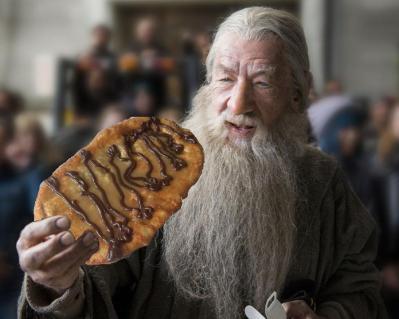 Gandalf likes Beaver Tails
