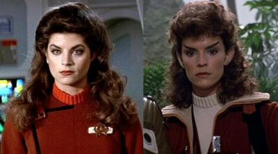 Kirstie Alley vs Robin Curtis
